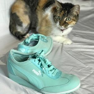 99ec28d1afed2d Women s Puma Eco Ortholite Running Shoes on Poshmark